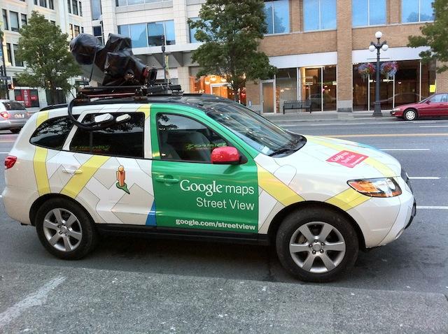 GoogleMapsStreetViewCar