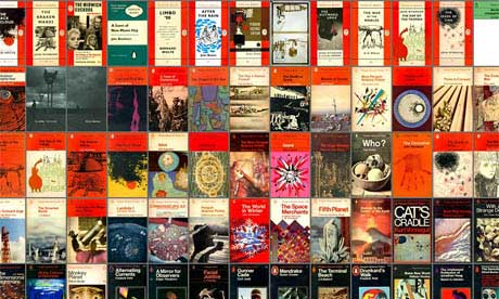 Great sample of Penguin Sci Fi Covers
