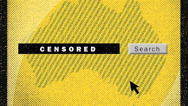internet censorship is unfair