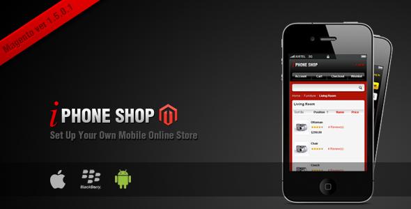magento mobile online shop