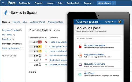 JIRA Service Desk Portal